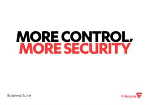 More control more security