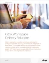 Creëer de software-defined werkplek met de oplossingen van Citrix