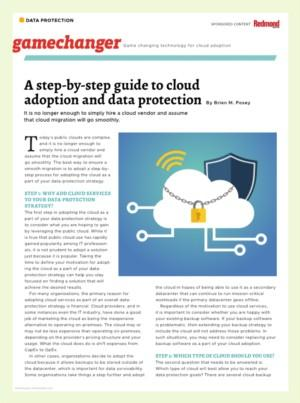 A step-by-step guide to cloud adoption and data protection