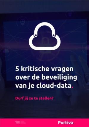 5 kritische vragen over de beveiliging van je cloud-data