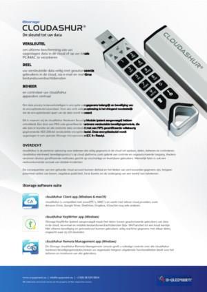 cloudAshur, de sleutel tot uw data in de cloud