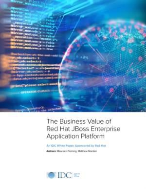 IDC Analyst Paper: de voordelen van Red Hat JBoss Enterprise Application Platform (JBoss EAP)