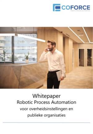 Robotic Process Automation voor overheidsinstellingen en publieke organisaties