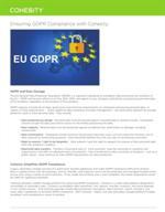 Verzekerd van GDPR Compliance met Cohesity