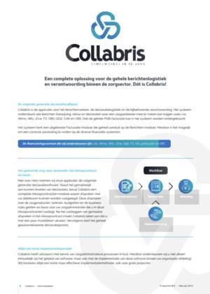Collabris informatieblad