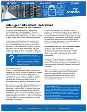 Intelligent sikkerhed i netværket