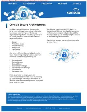 Conscia Secure Architectures