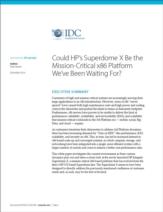 Is HP's Superdome X het bedrijfskritische x86 platform waarop we hebben zitten wachten?