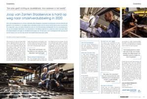 JvZ Staalservice hard op weg naar omzetverdubbelling 2020