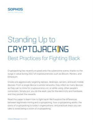 Standing Up to Cryptojacking