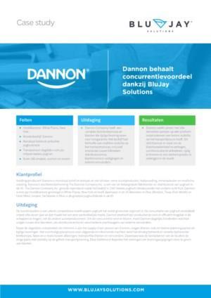 Dannon behaalt concurrentievoordeel dankzij BluJay Solutions