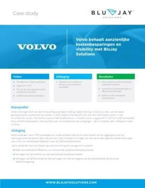 Volvo behaalt aanzienlijke kostenbesparingen en visibility met BluJay Solutions
