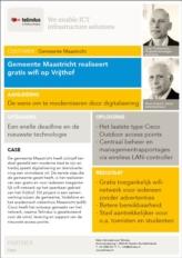 Gemeente Maastricht realiseert gratis Wi-Fi op Vrijthof