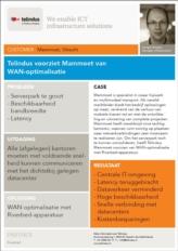 Mammoet reduceert dataverkeer tussen kantoren en datacenter met 79% dankzij WAN-optimalisatie
