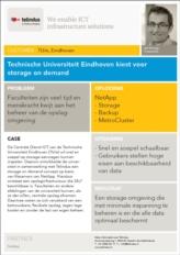 Technische Universiteit Eindhoven kiest voor storage on demand