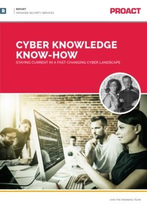 Houd uw kennis up-to-date met het Cyberkennisrapport 2019