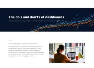 De 10 Do's en Dont's bij het creëren van een dashboard