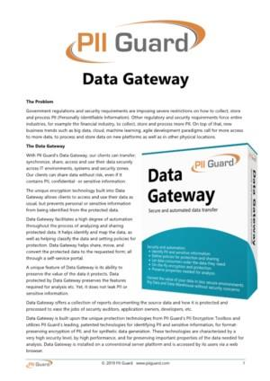 Data Gateway, optimal persondatabeskyttelse