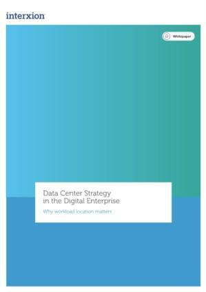 De datacenterstrategie voor bedrijven in digitale transformatie