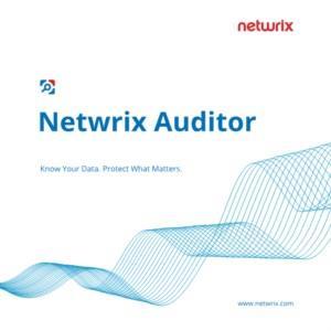 Netwrix Auditor Datasheet