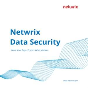 Netwrix Data Security
