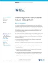 De toegevoegde waarde van cloud-based IT service management