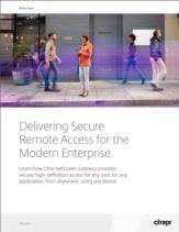 Beveiligde remote access voor moderne mobiele bedrijven
