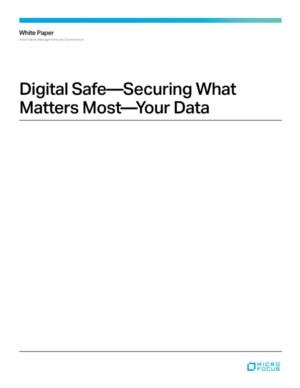Digital Safe - Securing What Matters Most - Your Data