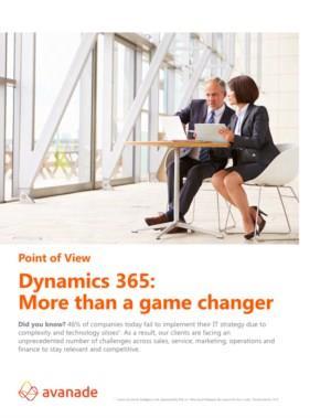 Dynamics 365: de volgende stap in uw digitale transformatie