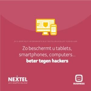 Zo beschermt u tablets, smartphones, computers...beter tegen hackers