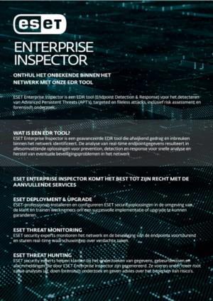 Datasheet: ESET Enterprise Inspector
