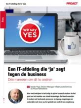 Hoe creëer je een IT-afdeling die 'ja' zegt tegen de business?