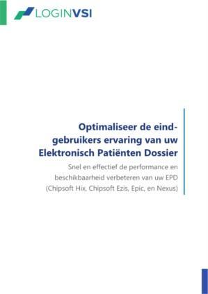 Optimaliseer de eind-gebruikers ervaring van uw Elektronisch Patienten Dossier