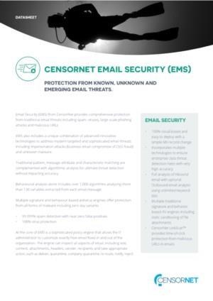 Email security Datasheet