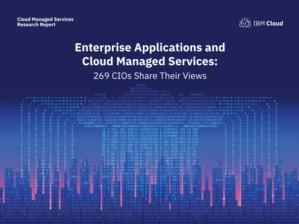 Enterprise Applications en Cloud Managed Services: 269 CIO's vertellen u meer