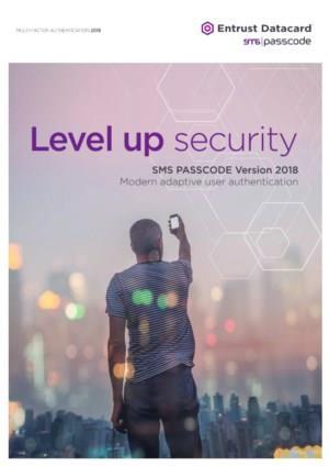 SMS Passcode MFA 2018