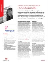 Internetbedrijf Foursquare stimuleert groei dankzij hybride cloud-oplossing