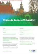 Nyenrode werkt sneller, flexibeler en beter samen met Skype for Business