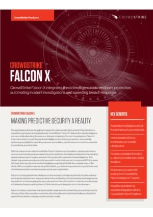 CROWDSTRIKE FALCON X