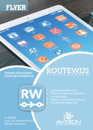 RouteWijs - overzicht digitale tests A-VISION