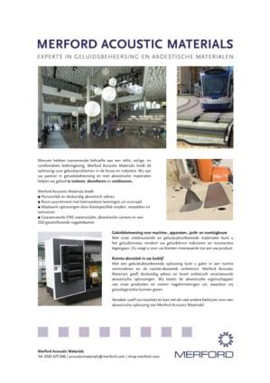 Flyer Merford Acoustic Materials