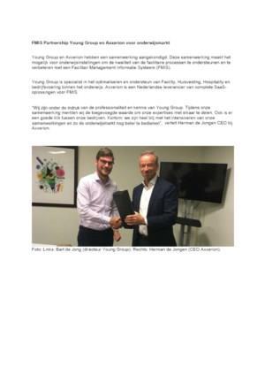 FMIS Partnership Young Group en Axxerion voor onderwijsmarkt