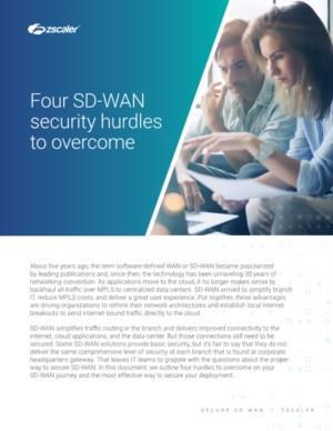 Vier SD-WAN beveiligingshindernissen te overwinnen