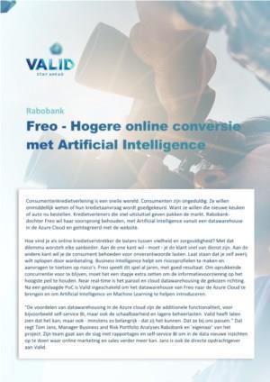 Hogere online conversie met Artificial Intelligence