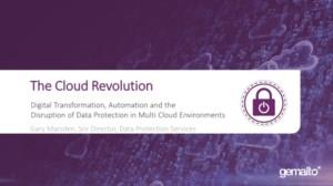 Data Protection in multi-cloud environments