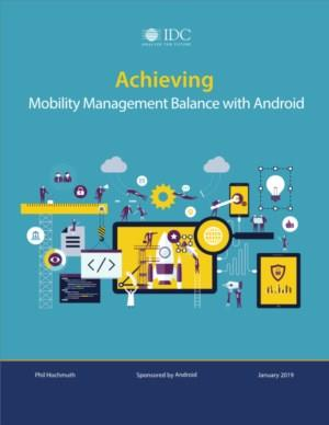 Achieving - Mobility Management Balance with Android
