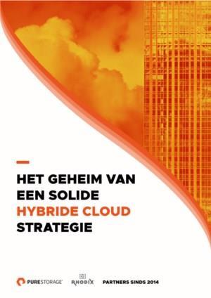Ebook: Het geheim van een solide hybride cloud strategie