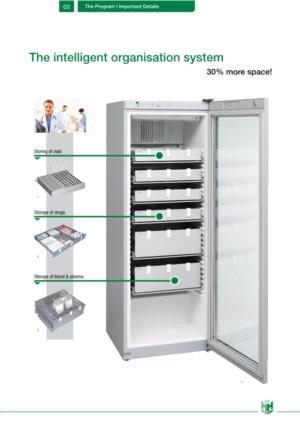 H + H opslagsystemen voor in koel- en vrieskasten