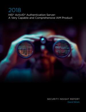 HID® ActivID® Authentication Server: A Very Capable and Comprehensive IAM Product