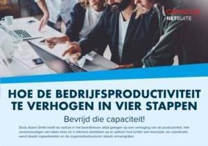 In vier stappen de bedrijfsproductiviteit verhogen